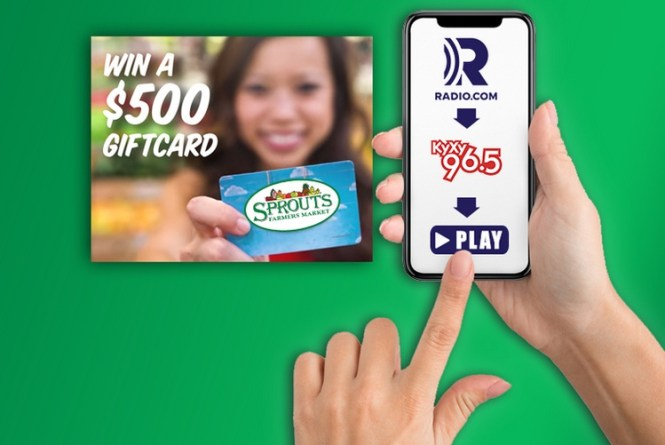 Sprouts Farmers Market Gift Card Contest