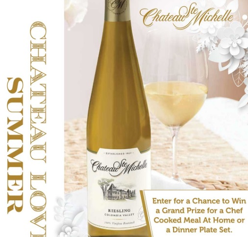 Chateau Ste. Michelle Loves Sweepstakes