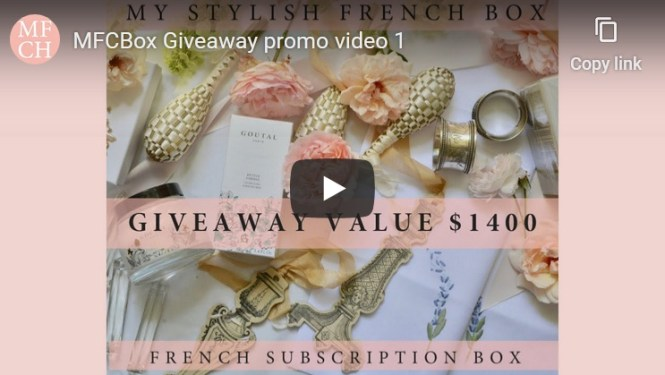 Luxury French Box Giveaway
