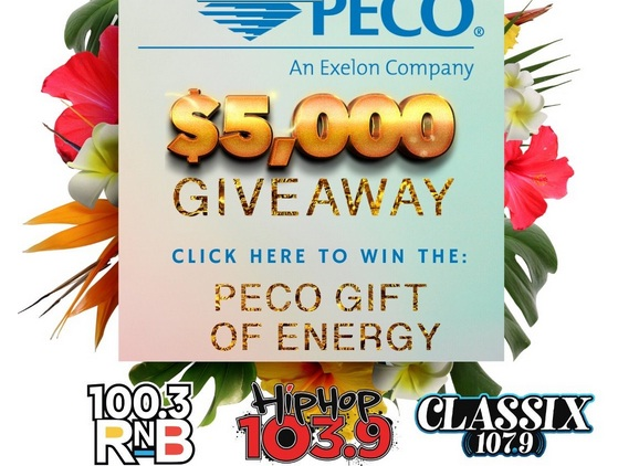 Peco Gift Of Energy Is Doing A $5,000 Giveaway