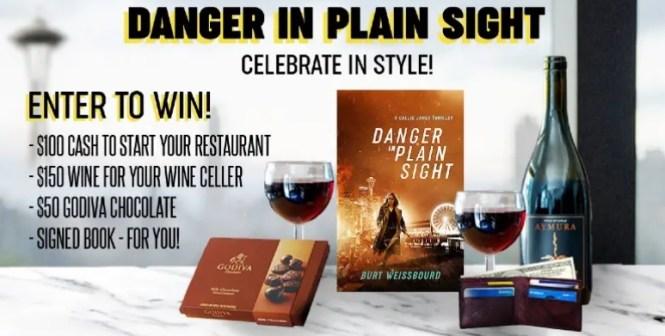 Bookstr Danger In Plain Sight Giveaway