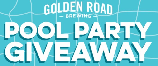 Golden Road Brewing Ultimate Pool Party Giveaway