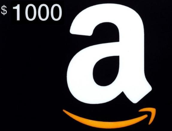 Aegend $1,000 Amazon Gift Card Giveaway