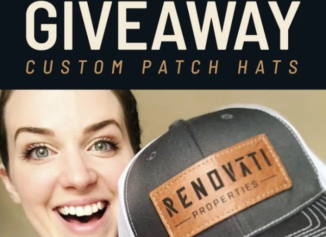 Holtz Leather Custom Patch Hats Giveaway