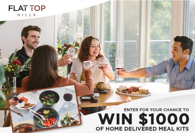Home Cooked With Flat Top Hills Sweepstakes