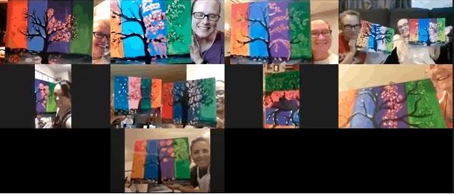 Live Laugh Paint Parties, Membership Giveaway