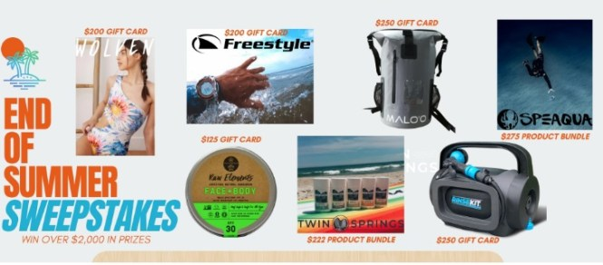RinseKit End Of Summer Sweepstakes