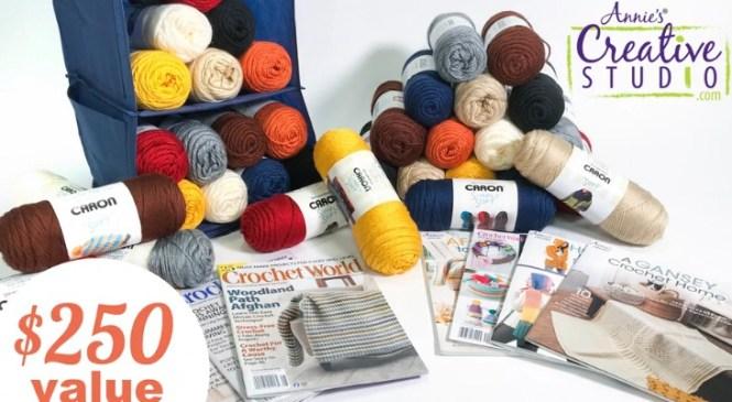 Annies Publishing Simply Sensational Crochet Giveaway