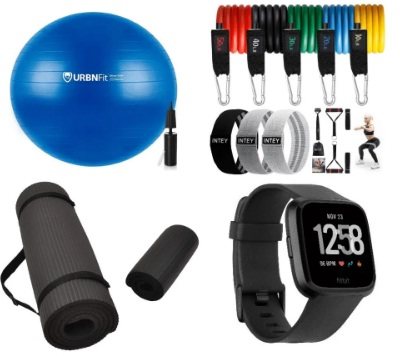 Fit Beginners Home Gym Equipment Bundle Giveaway