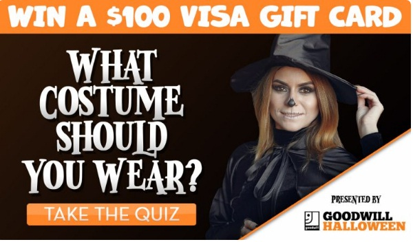 Goodwill Industries Which Halloween Costume Should You Wear Contest