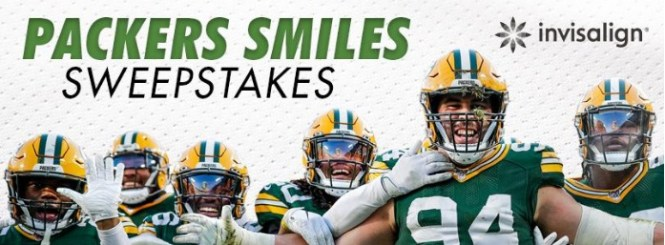 Packers Smiles Sweepstakes