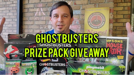 RediscoverThe80s.com Ghostbusters Prize Pack Giveaway