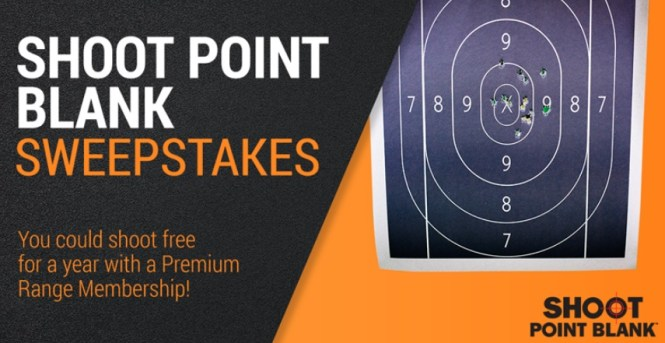 Shoot Point Blank Sweepstakes