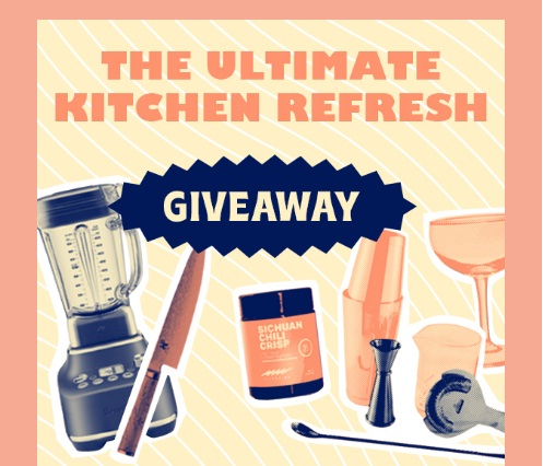 Ultimate Kitchen Refresh Sweepstakes - Win 6-month Cheese Subscription