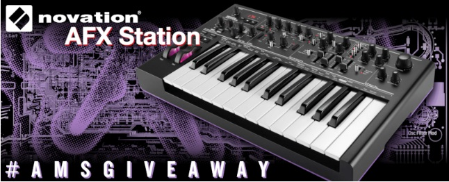 American Musical Supply Novation AFX Station Giveaway