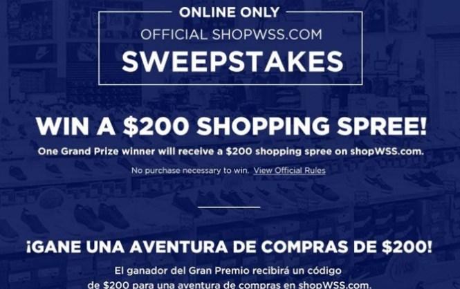 Eurostar ShopWSS.com Shopping Spree Giveaway