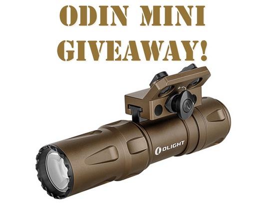 Olight Odin Mini Giveaway