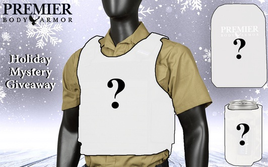 Premier Body Armor Holiday Mystery Giveaway