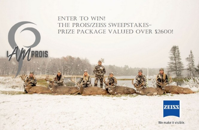 Prois Zeiss Sweepstakes