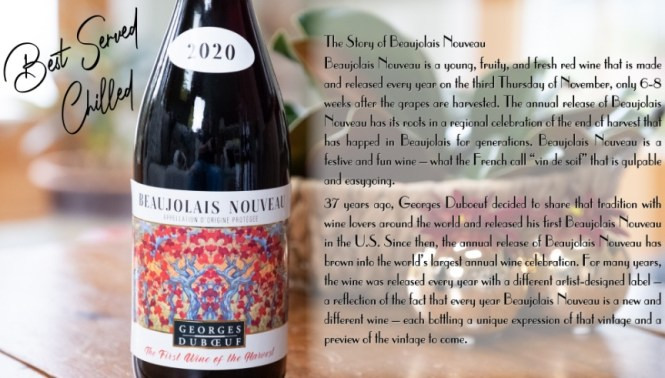 Quintessential Beaujolais Nouveau First Wine Of The Harvest Sweepstakes