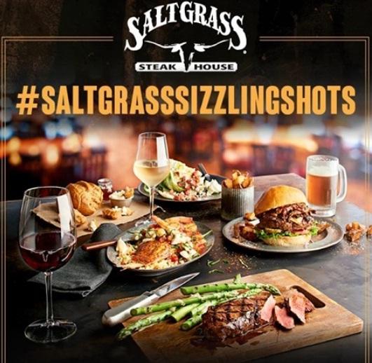Saltgrass Saltgrass Sizzling Shots Giveaway