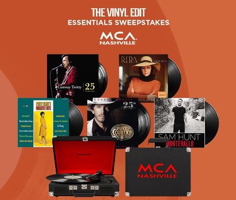 Universal Music Group Nashville UMG Nashville, Vinyl Prize Pack Giveaway