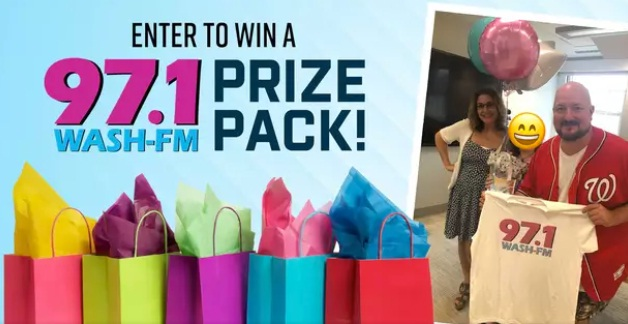 iHeartMedia And Entertainment WASH-FM Prize Pack Sweepstakes