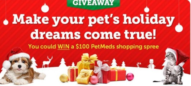 1-800-Petmeds Holiday Dreams Sweepstakes