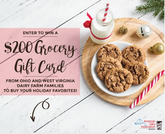 American Dairy Association Mideas American Dairy Associations Holiday Giveaway