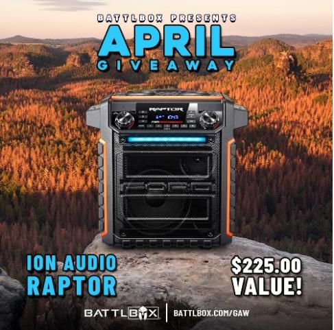 BattlBox April Giveaway