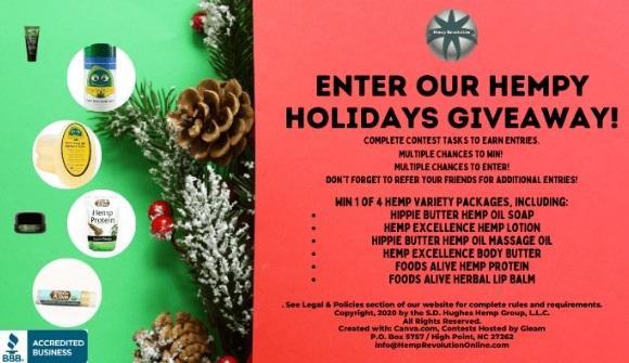 Hempy Holidays Giveaway