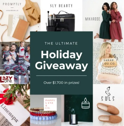 Malouf Linenspa The Ultimate Holiday Sweepstakes