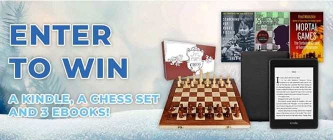 Open Road Integrated Media Early Bird Books Chess Lovers Giveaway