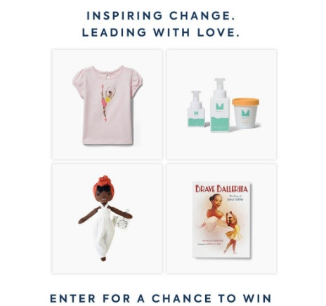 Janie And Jack Inspiring Change Sweepstakes