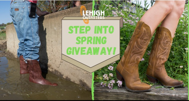 Lehigh Outfitters Step Into Spring Giveaway