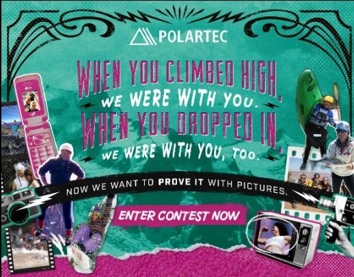 Polartec 40 Years Of Fleece Photo Contest