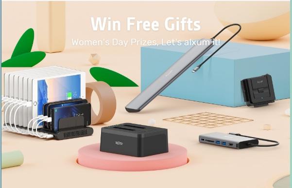 Alxum Women Day Giveaway