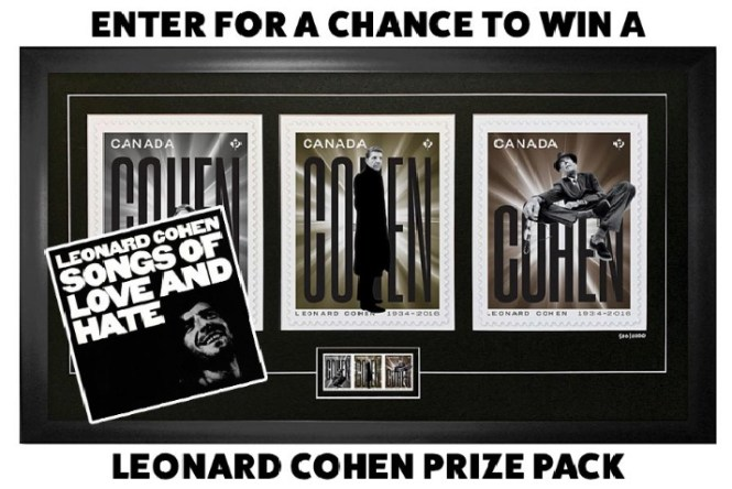 Exclaim Media Leonard Cohen Songs Of Love And Hate 50th Anniversary Giveaway