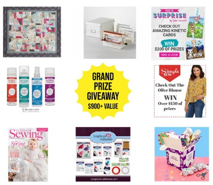 FaveCrafts National Craft Month Extravagant Grand Prize Giveaway