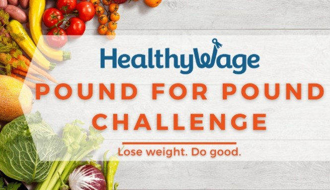 Healthywage Pound For Pound Charity Challenge Sweepstakes