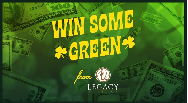 IHeartMedia Put Some Green In Your Pocket From Legacy Village Sweepstakes