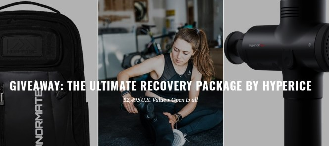 Peloton Ultimate Recovery Package By Hyperice Sweepstakes