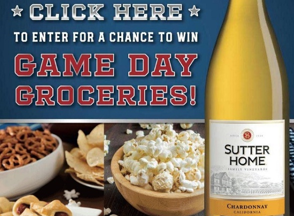 Sutter Home Wines Text To Win Groceries Sweepstakes