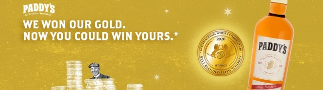 The Paddy Gold Giveaway