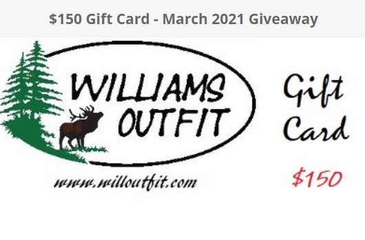 Williams Outfit March Giveaway