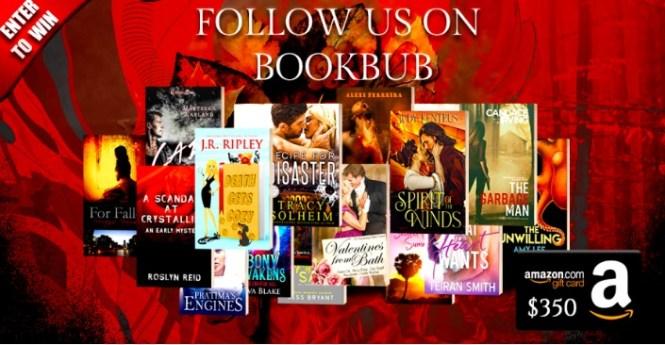 Book Throne $350 March BookBub Giveaway