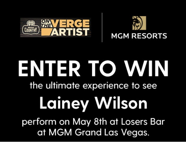 IHeartRadio On The Verge With Lainey Wilson Sweepstakes
