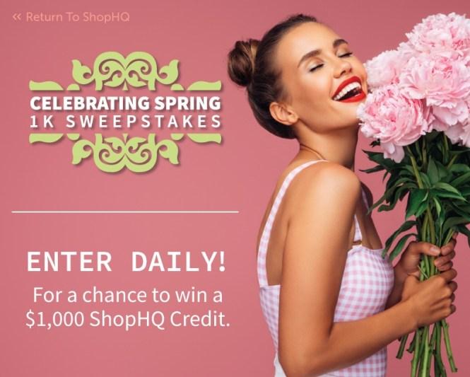 IMedia Brands ShopHQ Celebrating Spring 1K Sweepstakes