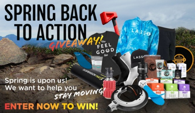 Lasso Spring Back To Action Giveaway