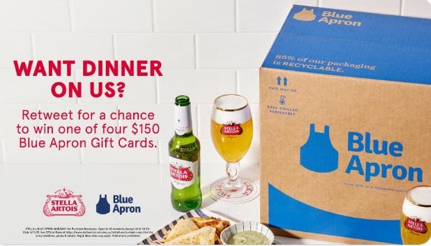 Stella Artois Blue Apron Giveaway